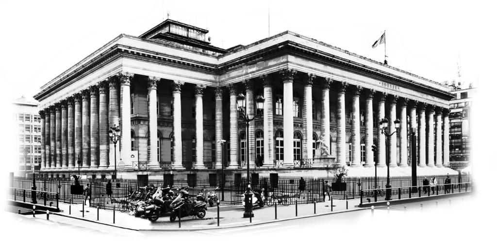 dessin du Palais Brongniart